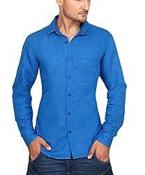Ecohawk Blue Casual Slim Fit Shirt 10090-E