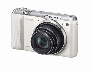 CASIO デジタルカメラ EXILIM EXZR850WE 1610万画素 Wi-Fi機能搭載 インターバル撮影 光学18倍ズーム EX-ZR850WE ホワイト
