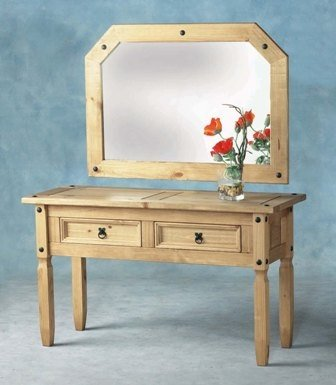 Seconique Corona Console Table With 2 Drawers