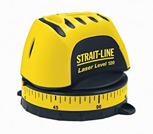 Strait-Line 6041101CD LL120 3/16-Inch at 20-Feet Manual Level Interior Line Laser