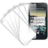 MPERO Collection 5 Pack of Clear Screen Protectors for HTC First