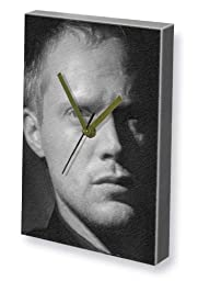 PAUL BETTANY - Canvas Clock (A4 - Signed by the Artist) #js001