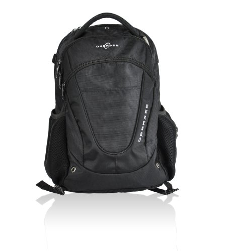 Obersee Oslo Diaper Bag Backpack, Black - 1
