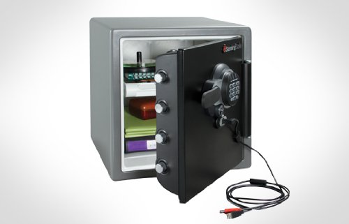 Sentrysafe Sfw123Gtf - Fire Safe, Electronic Lock With Usb Connection- 1.2 Cubic Feet