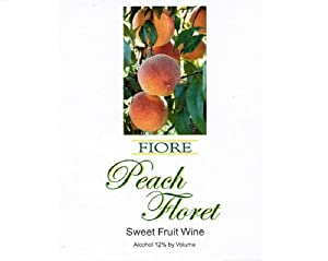 NV Fiore Winery Peach Floret Fruit Wine 750 mL
