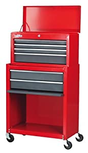 Sealey AP2200 Topchest & Rollcab Combination 6 Drawer - Red/Grey