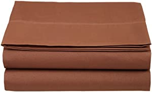 luxury twin flat sheet brushed microfiber chocolate twin flat sheets sold separately. Black Bedroom Furniture Sets. Home Design Ideas