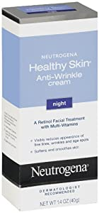Neutrogena Healthy Skin Anti-Wrinkle Night Cream, 1.4 Ounce