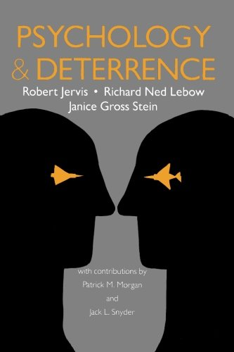 Psychology and Deterrence (Perspectives on Security) PDF
