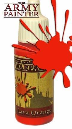 Warpaints: Lava Orange by Army Painter