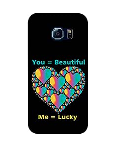 Mobifry Back case cover for Samsung Galaxy S6 edge SM-G925 Mobile ( Printed design)