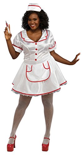 Nurse Plus Costume - Plus Size - Dress Size 16-22