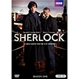 img - for Sherlock: Season One Benedict Cumberbatch (Actor), Martin Freeman (Actor), Euros Lyn (Director), Paul McGuigan (Director) | Rated: NR | Format: DVD book / textbook / text book