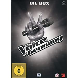 The Voice of Germany: Die Box auf DVD