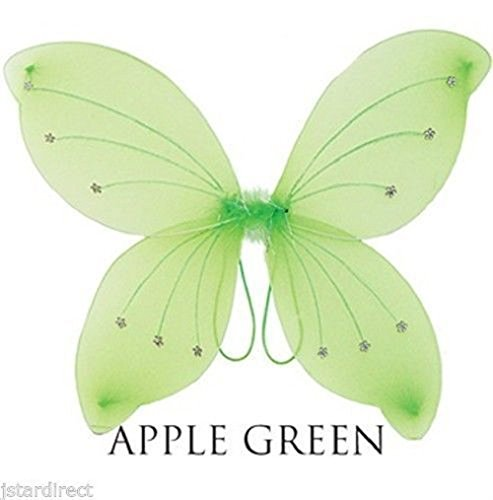 "16""x19"" Fairy Wings Butterfly dress up Tinker Bell Halloween Costume USA"