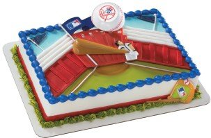 MLB Home Run New York Yankees Decoset ~ Cake Topper at Amazon.com