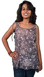 Miraaya Women's Tunic (M2142C_3793_Grey_X-Small)