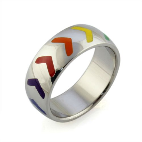 ... Gay Pride Wedding Rings (Or Engagement Rings for Gay Couples