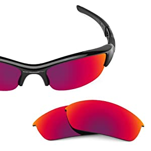 c711ea8bb39 Revant Replacement Lenses for Oakley Flak Jacket Polarized Midnight Sun  Clothing