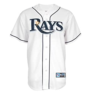 MLB Youth Tampa Bay Rays Home Replica Baseball Jersey