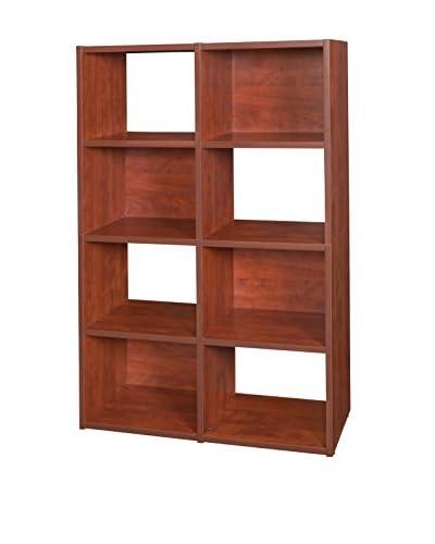 Regency Pixel Cube Bookcase, Cherry
