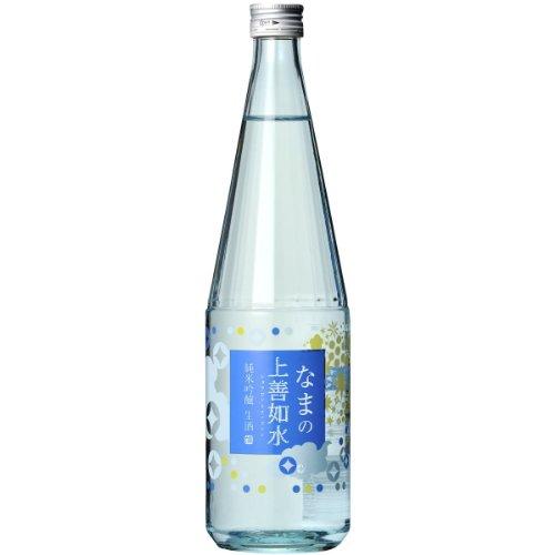 白瀧酒造 なまの上善如水 純米吟醸 720ml