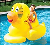 Giant Ducky Kids Rideable Swimming Pool Float Toy