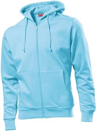 Hanes Beefy Hooded Jacket Sky Blue M