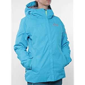 686 Mannual Mystic Insulated Women's Snowboard Jacket - Cyan Size Small