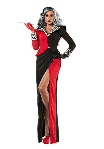 Womens Cruella D'Evil Costume