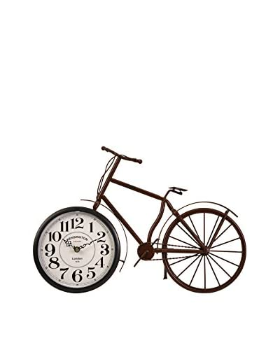 Higdon Bicycle Clock, Brown