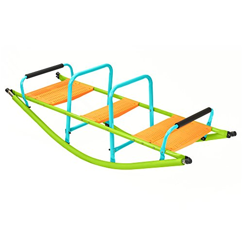 New Pure Fun Home Playground Equipment: Rocker Seesaw, Youth Ages 4 to 10