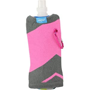 """Reflex Runway"" Vapur Uptown Anti-Bottle with a Pink Sweater 0.5 L, 18 oz. Made in USA."