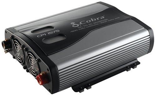 Portable, Cobra Cpi 1575 1500 Watt 12 Volt Dc To 120 Volt Ac Power Inverter Consumer Electronic Gadget Shop