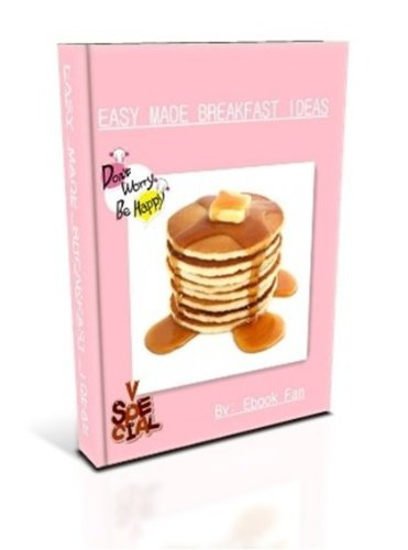 Easy Made Breakfast Ideas: Choose your Breakfast! Don't let your breakfast choose you! SSS+++( Brand NEW )