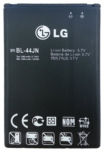 LG BL-44JN 1540 mAh Battery for LG Connect 4G MS840 / Enlighten VS700 / Marquee LS855 / myTouch E739 / Optimus Slider LS700 / Optimus ZIP LGL75C (Lg Ms840 compare prices)
