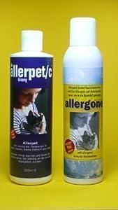 Allerpet/c & Allergone Textilspray Kombipaket