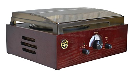 3-Speed-Turntable-AMFM-Tuner-Plus-Record-To-PC-in-Rich-Cherry-Wood