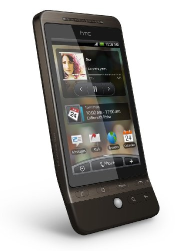 HTC Hero G3 A6262 Brown Unlocked GSM Smartphone Google Android Touchscreen Mobile Cell Phone, GPS, Wifi, 5 Megapixel Camera, Compass, MicroSD