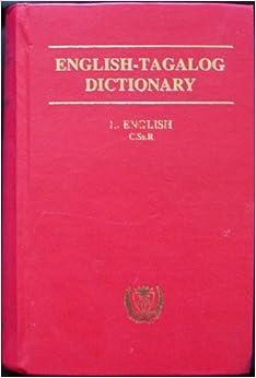 English-tagalog Dictionary (Hardcover): Leo James English