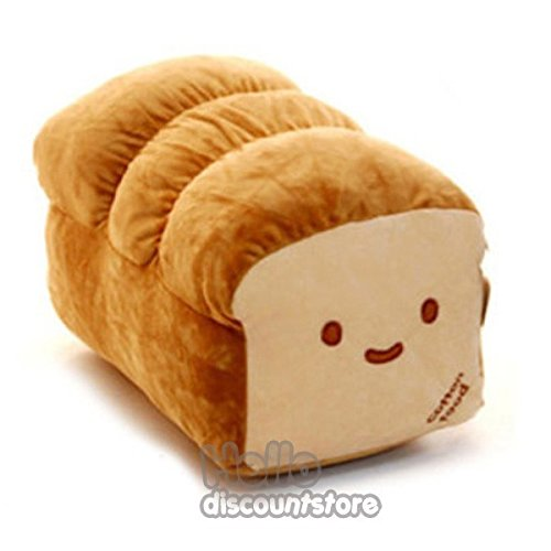 Buy BREAD 6, 10, 15 Plush Pillow Cushion Doll Toy Gift Home Bed Room Interior Decoration Girl Chi...