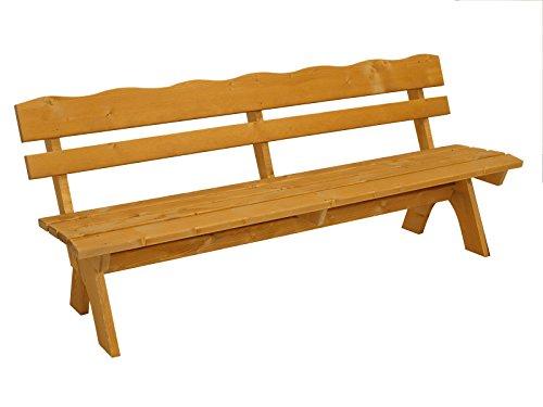 Massivholz-Gartenbank-FREITAL-200cm-Kiefer-35mm-imprgniert