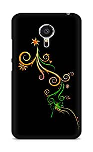 Amez designer printed 3d premium high quality back case cover for Meizu MX5 (Abstract Dark 18)