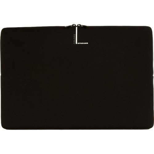 Tucano Second Skin Colore Custodia in neoprene per Notebook widescreen 38,1 cm (15 pollici) e 16 pollici, colore: Nero