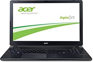Acer Aspire V5-573-54204G50akk 39,6 cm (15,6 Zoll) Notebook (Intel Core i5 4200U, 1,6GHz, 4GB RAM, 500GB HDD, Intel HD 4400, Win 8) aluminium/schwarz