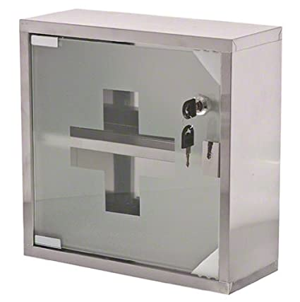 Update International MC-125S Stainless Steel First Aid Cabinet