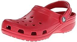 crocs Unisex Classic Clog,Pepper,7 US Men\'s / 9 US Women\'s