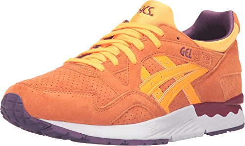 Onitsuka Tiger by Asics Unisex Gel-Lyte? V Orange Pop/Orange Pop Sneaker Men's 7.5, Women's 9 Medium