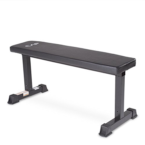 CAP-Barbell-Flat-Weight-Bench-Black
