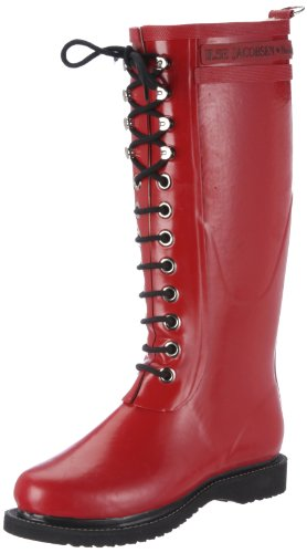 Ilse Jacobsen Long Rubberboot Boots Women Red Rot (Red 30) Size: 7.5 (41 EU)